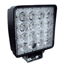 JBM Tools | 16 led werklamp, 48 w, vierkante, zoeklicht