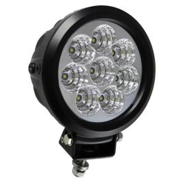 JBM Tools | 8 led werklamp, 80 w, ronde, strooilicht