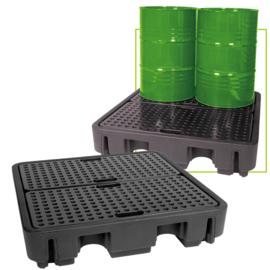 JBM Tools   Pallet met een tank - 4 verticale vatten