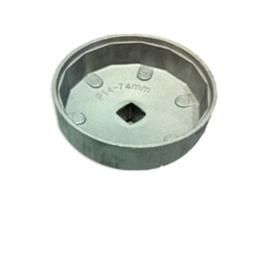 JBM Tools | Doppenset voor trekken van oliefilter 74x14c
