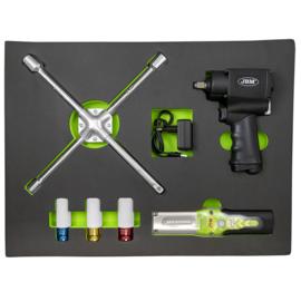 JBM Tools |  6-delige pistool- en bekermodule