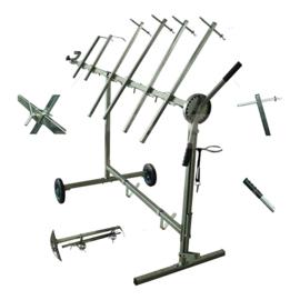 JBM Tools | Roterend droogrek | Voor deuren, kappen, spoilers etc.
