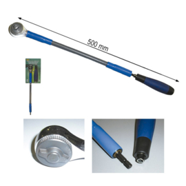 "JBM Tools | FLEXIBLE 72-TANDEN RATEL 3/8"" 500MM"