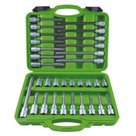 JBM Tools   Bits set: 12-kante+ ribe