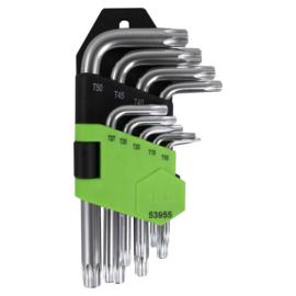 JBM Tools   TORX-SET VAN 9 STUKS (KORT)
