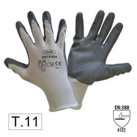 JBM Tools | PALM NITRILE COATED GLOVES T11