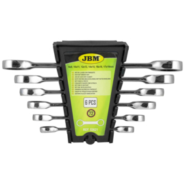 JBM Tools | Ring/Ratelsleutel set - 6 Delig |