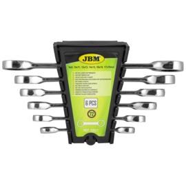 JBM Tools   Ring/Ratelsleutel set - 6 Delig  