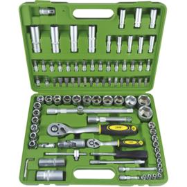 JBM Tools | 94-DELIGE GEREEDSCHAPSKIT MET HEXAGONALE DOPPEN