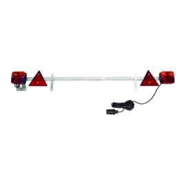 JBM Tools | Telescopische panel voor aanhangwagens 1,4-2.1m /kabel 6 m
