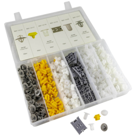 JBM Tools | Bekleding clips assortiment Renault | 350 stuks
