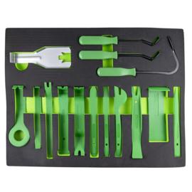 JBM Tools | Lade met een set van nylon-handgrepen