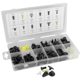 JBM Tools | Assortimentsdoos sets van plastic clips voor Mazda (190 stuks)