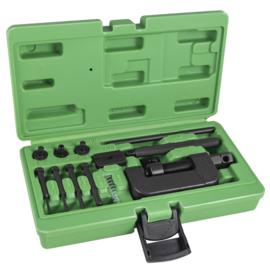 JBM Tools | Instrument om klinknagels voor motorfiets ketens te instaleren/verwijderen
