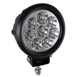 JBM Tools | 8 led werklamp, 80 w,ronde, zoeklicht