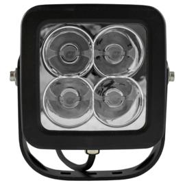 JBM Tools | 4 led werklamp, 40 w, vierkante, zoeklicht