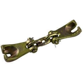 JBM Tools | Sluitschakel (twee haken met knippen) 3t