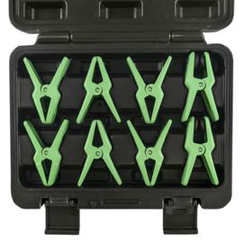 JBM Tools | SET VAN 8 TANGEN MET EEN BEVESTIGING VOOR SLANGEN
