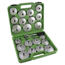 JBM Tools | doppenset voor oliefilters 23-delig