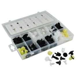 JBM Tools | Assortimentsdoos set van plastic clips voor panelen Honda (150 stuks)