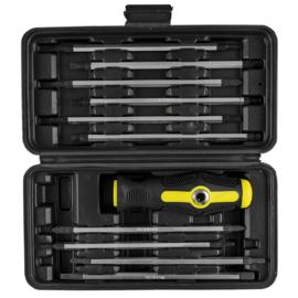 JBM Tools | Set van schroevendraaiers met een verwisselbaar handvat