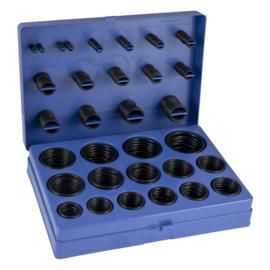 JBM Tools | O-ring rubber - O-ringen assortiment Metrisch 386 Delig