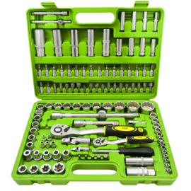 JBM Tools | SET VAN 12-KANTE DOPPEN, 113-DELIG