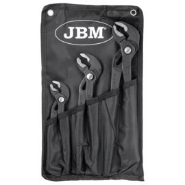 JBM Tools | Tangenset 3-Delig | Verstelbare Waterpomptang |