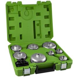 JBM Tools | Doppenset voor Demontage oliefilter | 9-delig