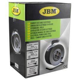 JBM Tools Elektro haspel 25m