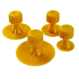 JBM Tools | Set van 4 gele kussens (ref. 53224)