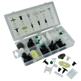 JBM Tools | Bekleding clips assortiment Volkswagen | 350 stuks