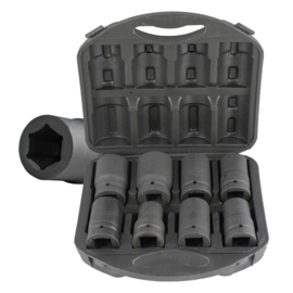 JBM Tools | Set van 8 koppen voor draaimoment multiplicatoren