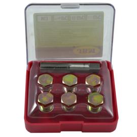 JBM Tools | Reparatiekit voor schroefdraad herstelling in de carter schaal (M-13)