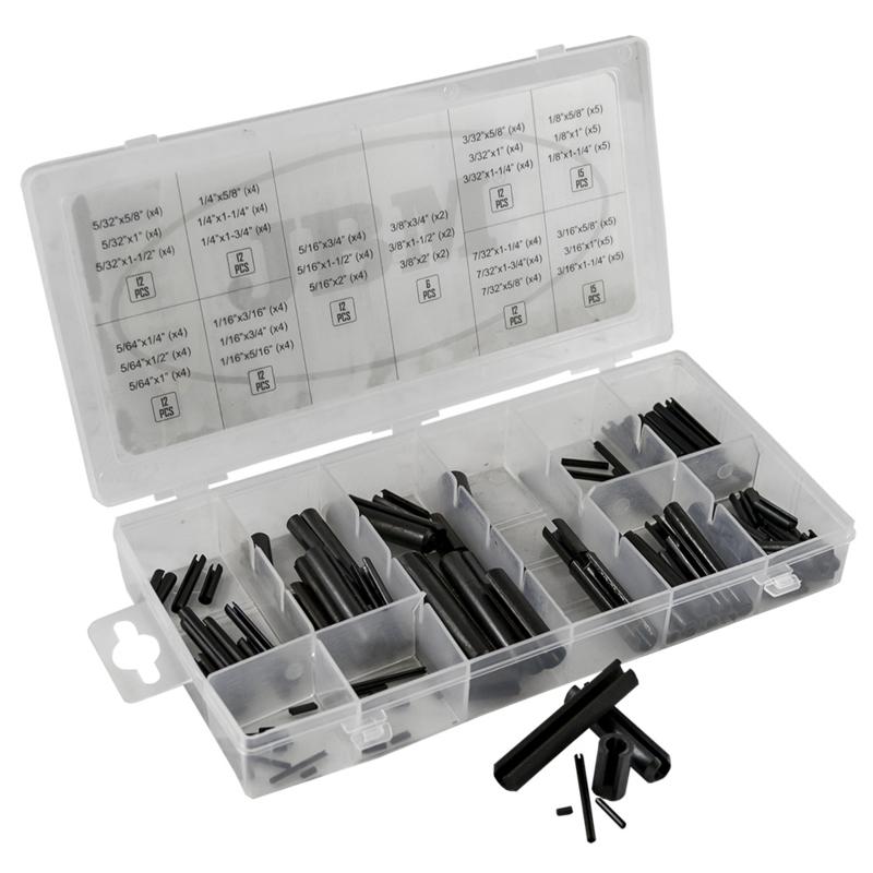 JBM Tools set van cilindrische pennen 120-Delig