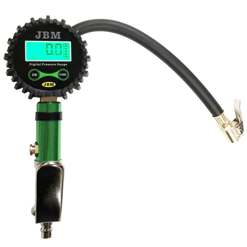 JBM Tools pneumatische luchtpomp met digitale manometer