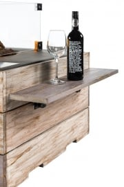 Houten side table Nice&Nasty