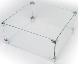 Glazen ombouw Happy Cocoon Table groot 56x56 cm