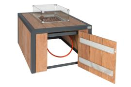 Easyfires vuurtafel Box square