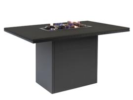 Cosiloft 120 Relax Dining Table Black/Black top