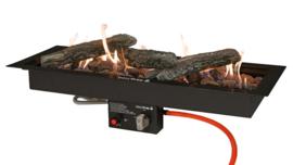 Easyfires Inbouwbrander 76x26 cm rechthoek Black (Limited Edition)