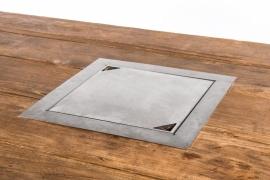 Happy Cocoon Table Inbouwbrander Vierkant
