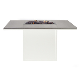 Cosiloft 120 Relax Dining Table White/Grey top
