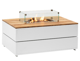 Cosipure 120 White frame / Teak top