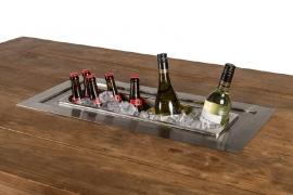 Happy Cocooning Inbouwbrander /wijnkoeler combi set rechthoek