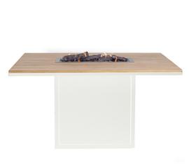 Cosiloft 120 Relax Dining Table White/Teak