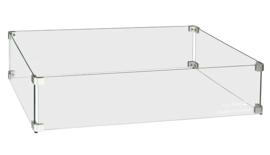 Easyfires Glasombouw rectangle groot / rechthoek 78x40 cm