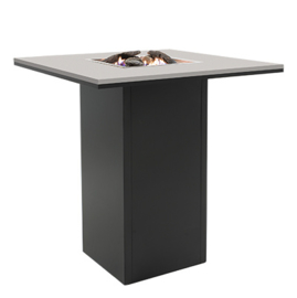 Cosiloft 100 Bar Table black frame / grey top