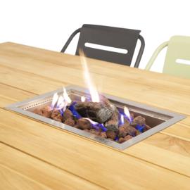 Cosi inbouwbrander square (vierkant/zwart)