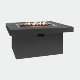 Easyfires vuurtafel Milano rectangle antraciet